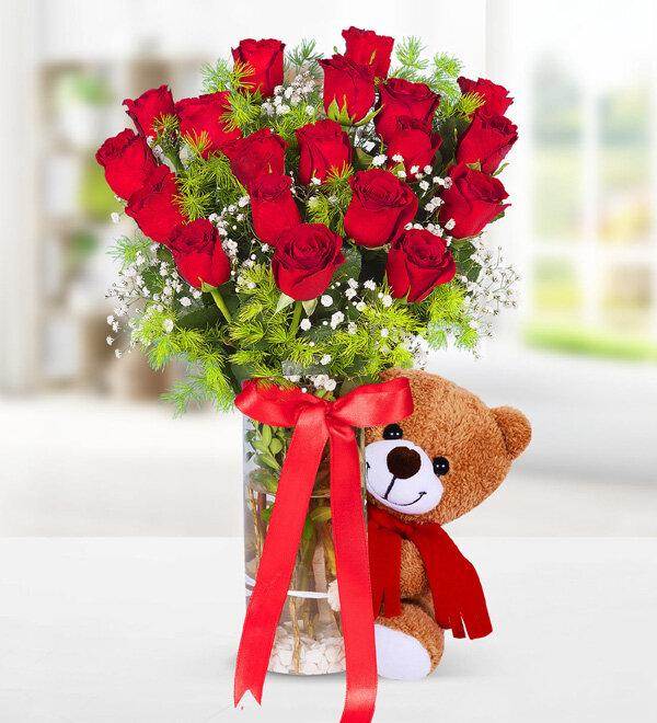 Kırıkkale Ayıcık ve Kırmızı Güller