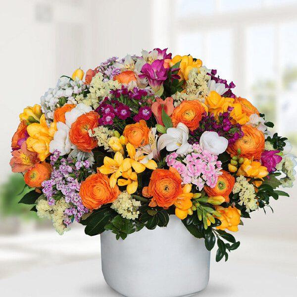 Kırıkkale Seramikte Kır Çiçekleri